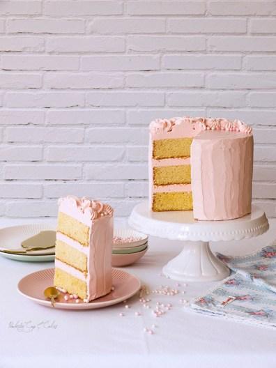 Yellow Butter Cake (una tarta de toda la vida)
