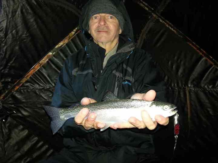 Gates lake - Ice fishing in BC