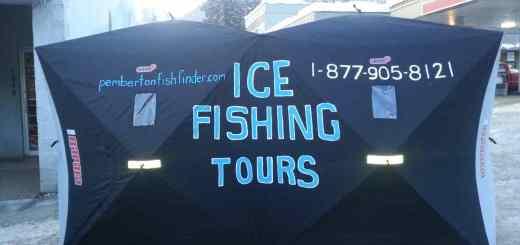 Ice Fishing Tours with Pemberton Fish Finder