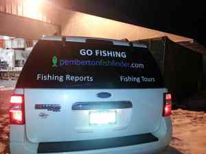 Pemberton Fish Finder Decal