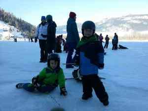 Pemberton Winterfest Ice fishing