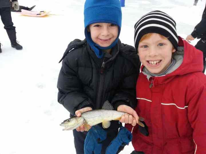 Pemberton Winterfest Second Place Ice Fishing derby