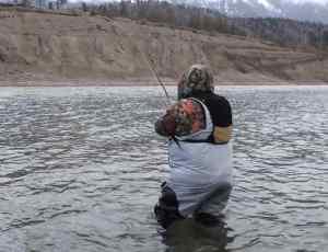 Spey fishing Steelhead BC Canada