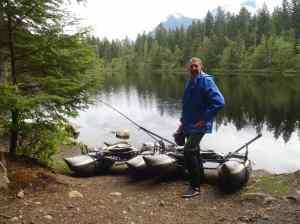 Mosquito Lake Fishing in Pemberton British Columbia