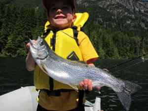 BC Freshwater Fishing Reports Anderson Lake