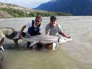 Sturgeon Fishing in BC