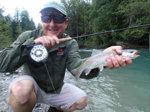 Fly Fishing the Birkenhead River