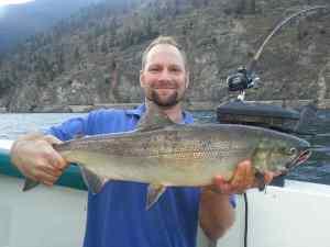 Fishing Anderson Lake British Columbia Canada