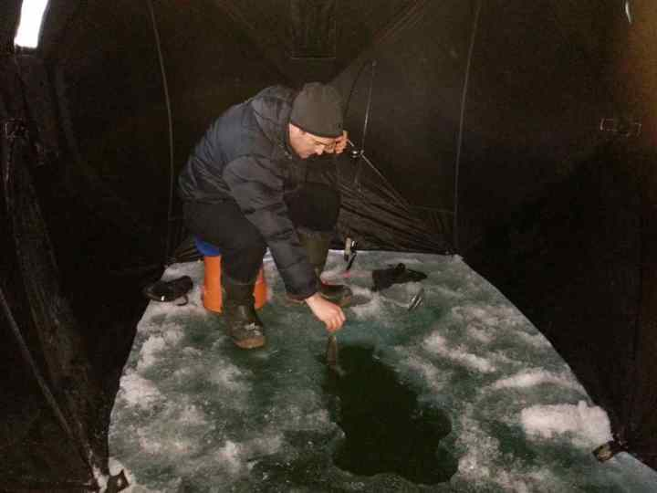 Ice Fishing Report Whistler and Pemberton British Columbia Canada