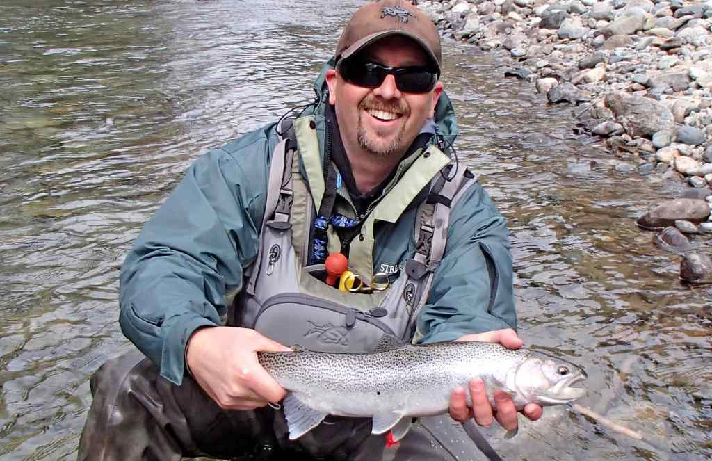 Rainbow Trout Fly Fishing