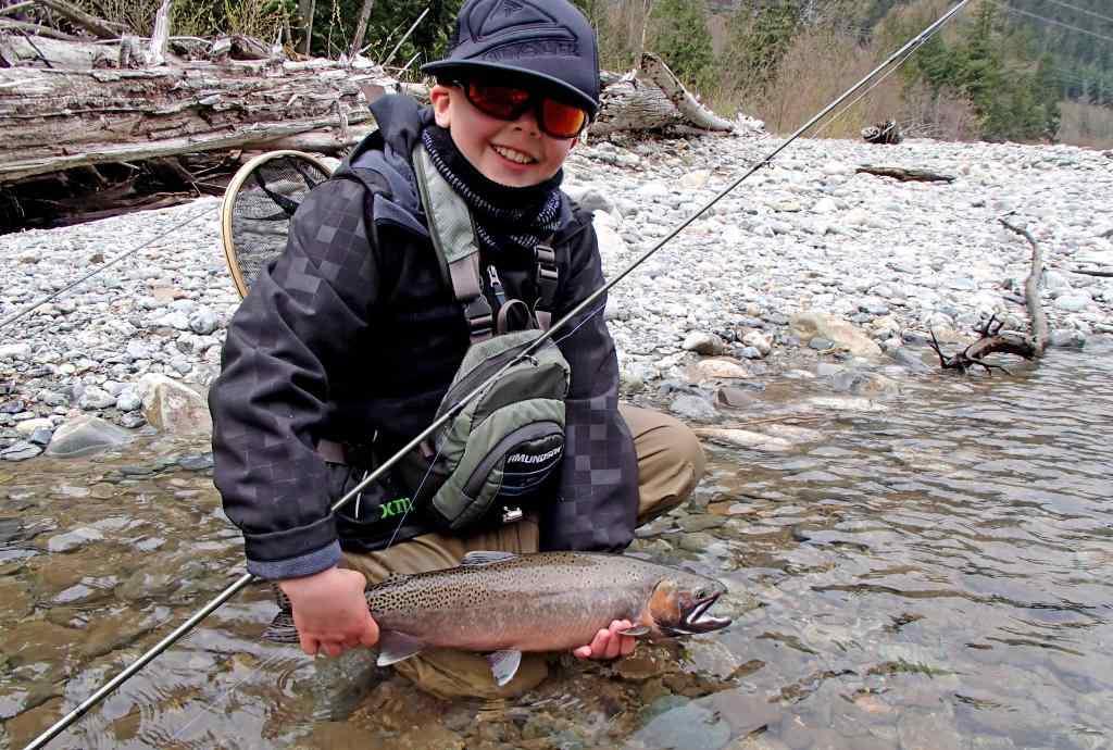 Birkenhead River Fly Fishing at it's Best