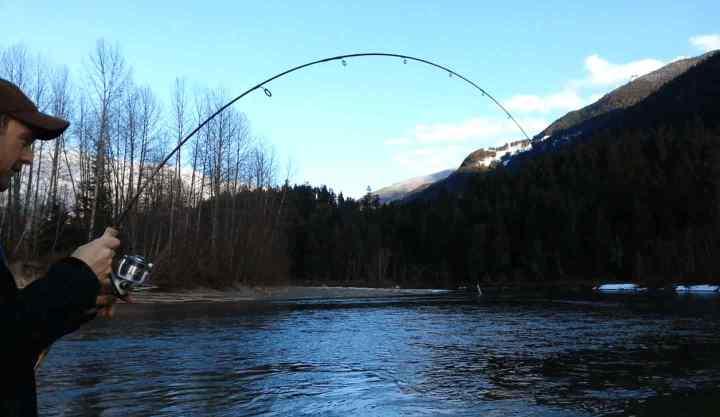 River Fishing Pemberton BC Canada