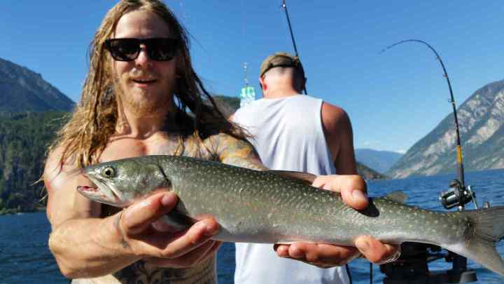 Bull Trout fishing in Whistler