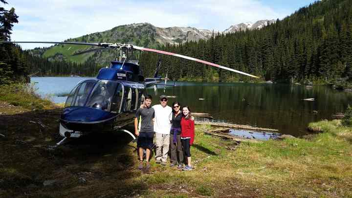 Family Heli Fishing