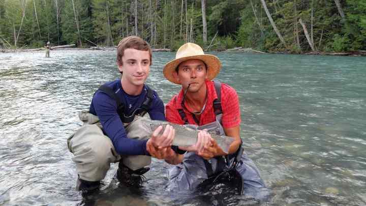 Fishing Whistler BC