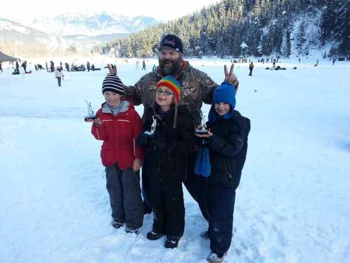 2015 Pemberton Winterfest Kids Ice Fishing Derby
