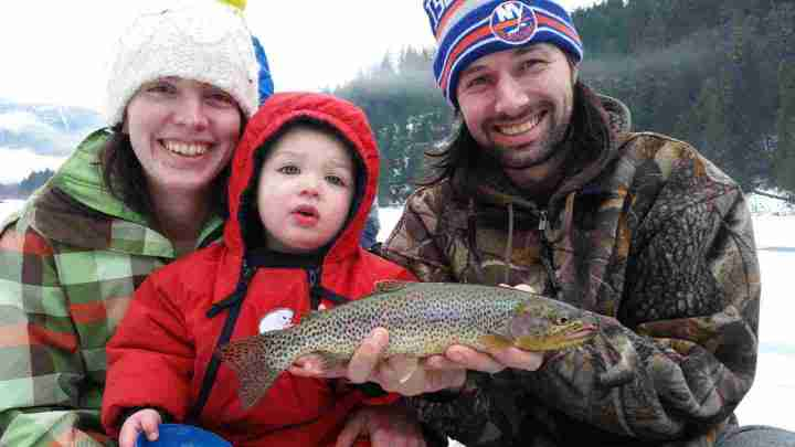 2015 Pemberton Winterfest Kids Ice Fishing Derby Results
