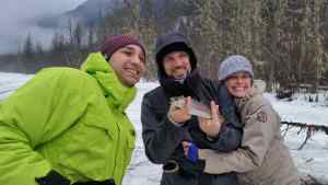 Ice fishing is Team building