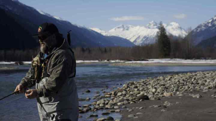 Fly Fishing Pemberton BC Canada Upper Lillooet River