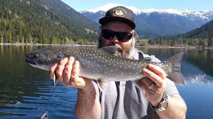 Bull Trout fishing in BC Canada
