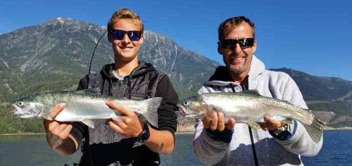 Father's Day fishing with the Pemberton Fish Finder.