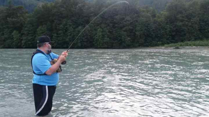 Pink Salmon Fly Fishing Tours Squamish British Columbia Canada