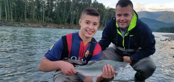 Family fishing trips in British Columbia Canada