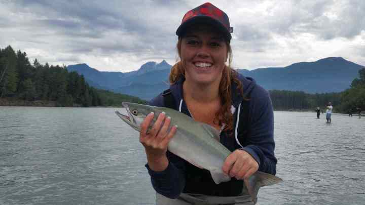 Fly Fishing Trips in Whistler BC for Pink Salmon