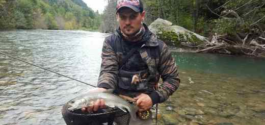 Fly Fishing Report for the Birkenhead River in Pemberton BC