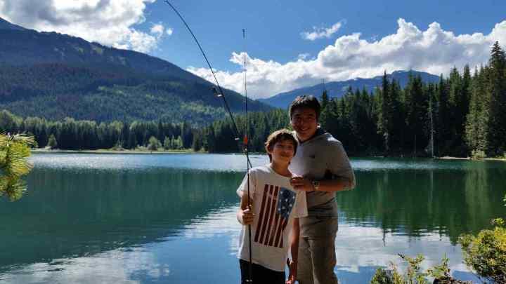 Lost Lake fishing