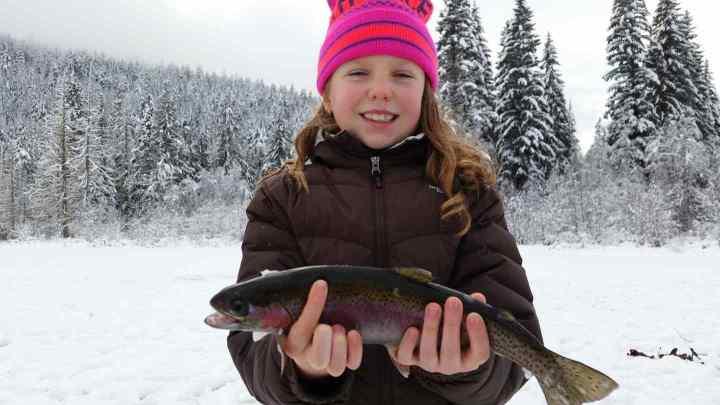 Girls always catch the biggest fish ;)