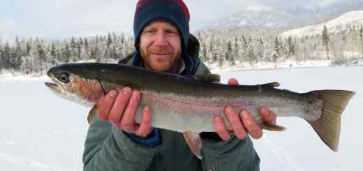 Ice fishing trips in Canada with Pemberton Fish Finder