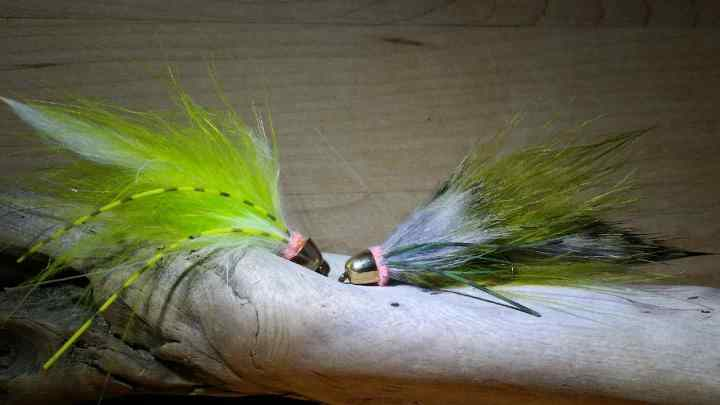 Bull Trout fly patterns for British Columbia