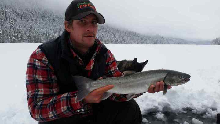 Ice fishing Trips in Whistler Canada