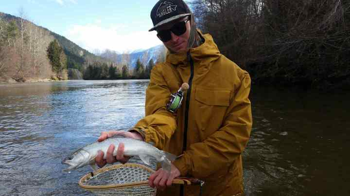 Catch and release fly fishing in Whistler British Columbia