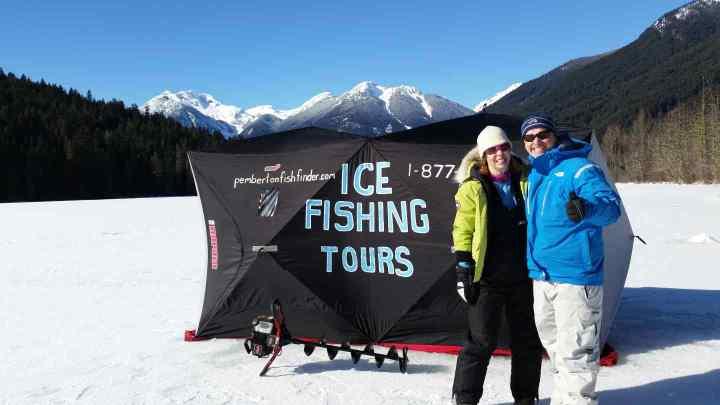 Ice fishing trips in Canada