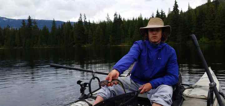 Showh Lakes in Whistler a hidden fly fishing gem