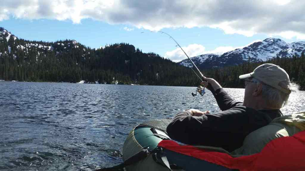 Heli fishing BC