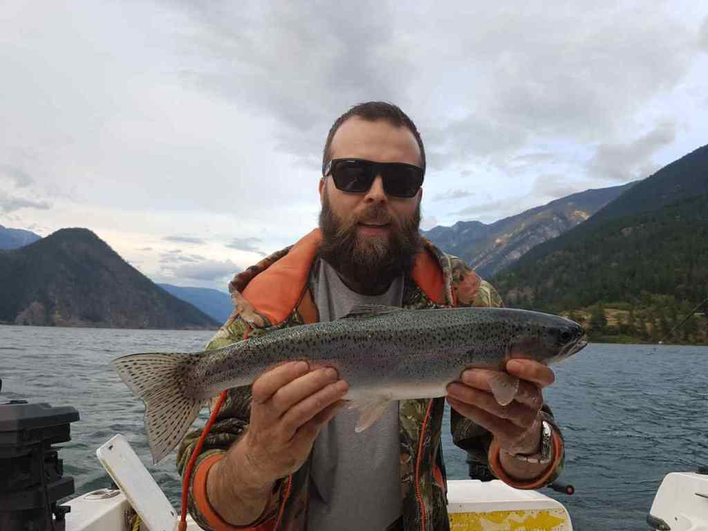 Best Rainbow Trout fishing in British Columbia