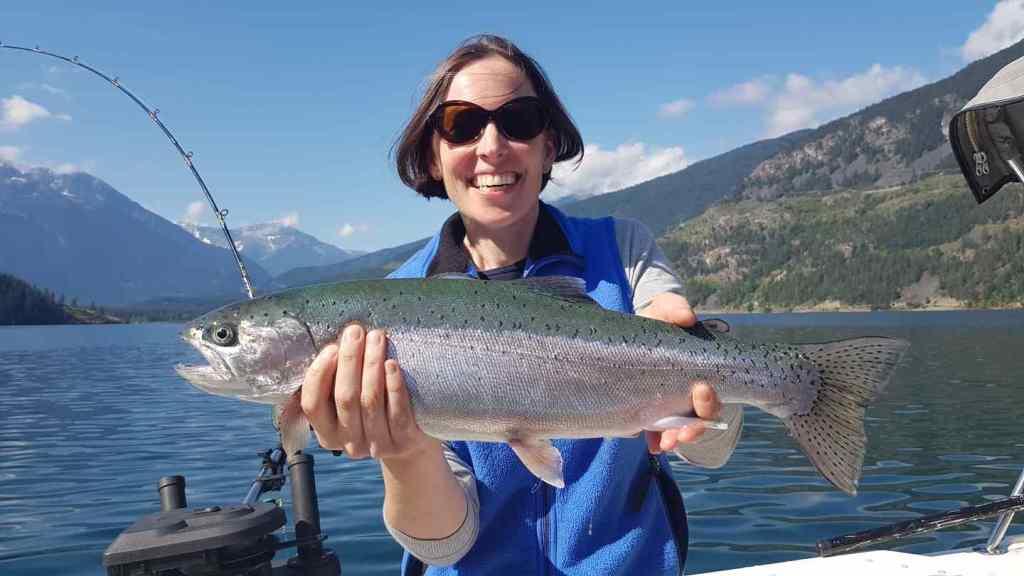 Best lake fishing in British Columbia Anderson Lake