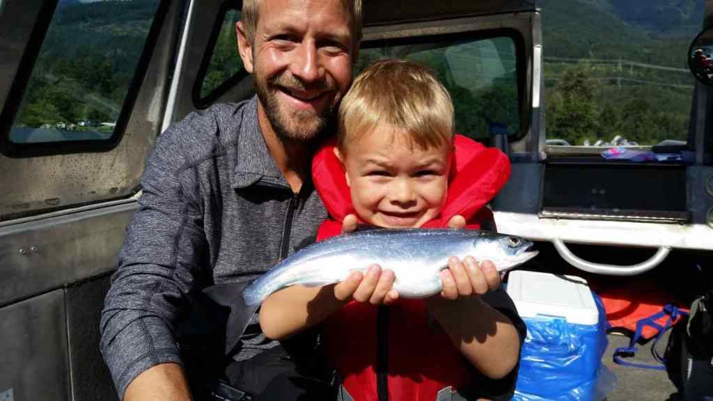 Kokanee fishing in British Columbia