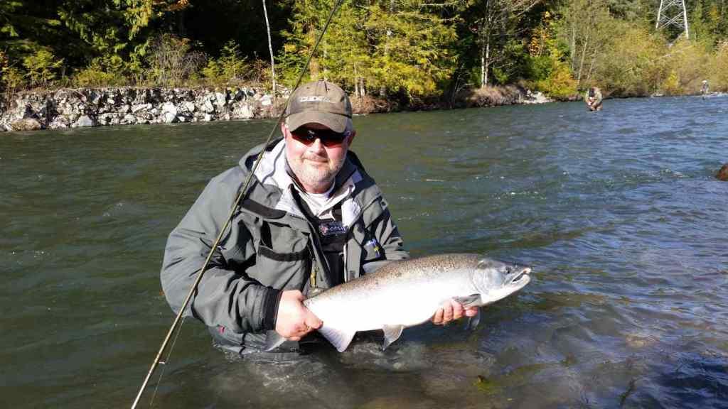 Squamish BC fishing reports Chum and Coho Salmon fly fishing