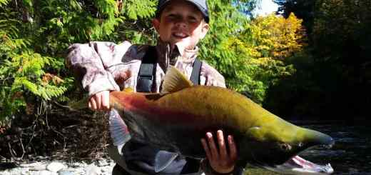 Take your Kids Salmon fishing in British Columbia