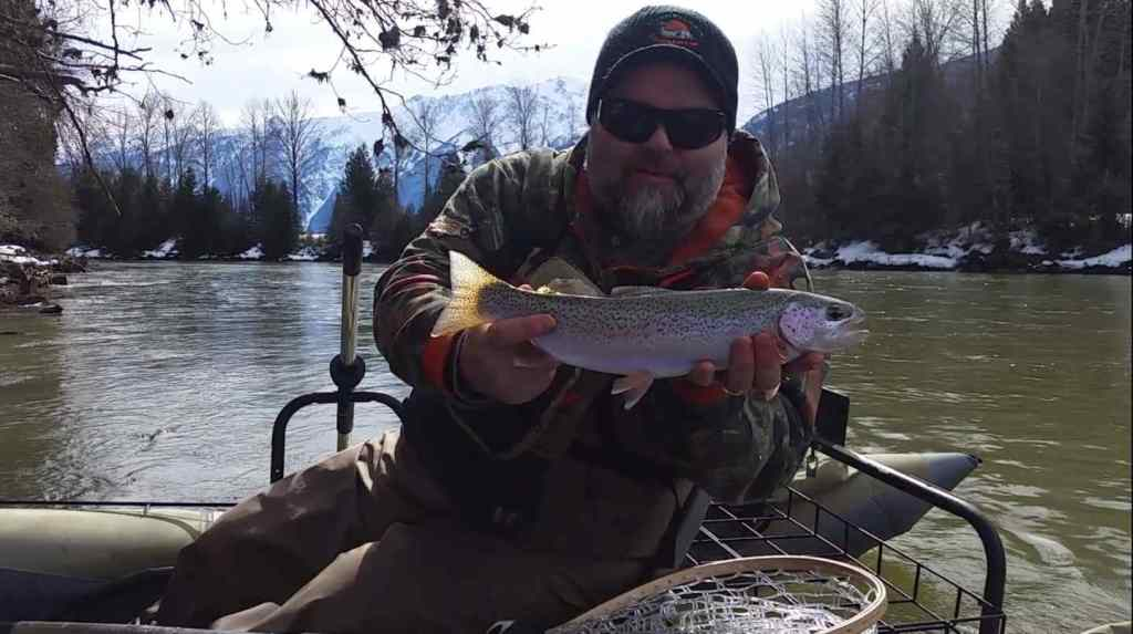 Fly Fishing with Streamers in Whistler BC