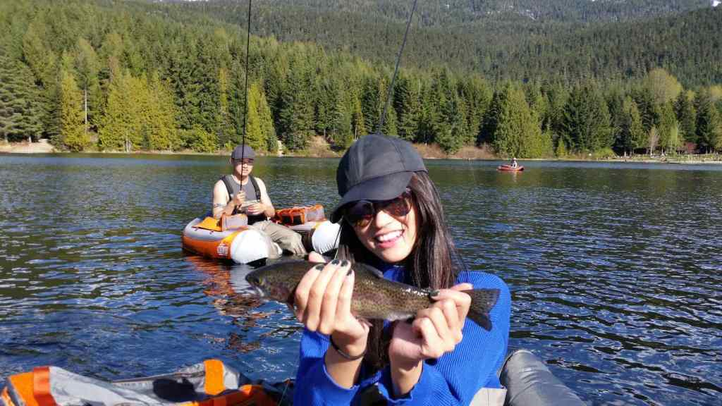 Fishing in Whistler Canada