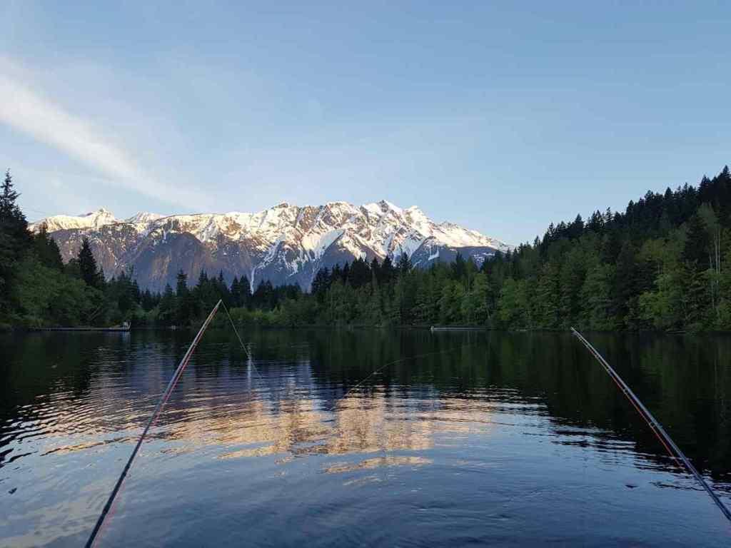 Ivey Lake in Pemberton BC