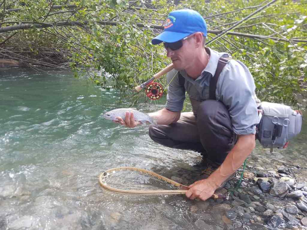 Great dry fly fishing in BC