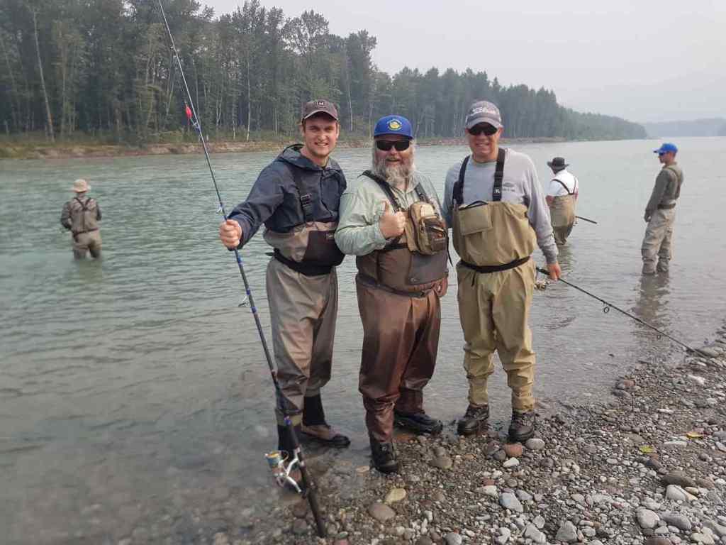 Canada Pink Salmon fishing
