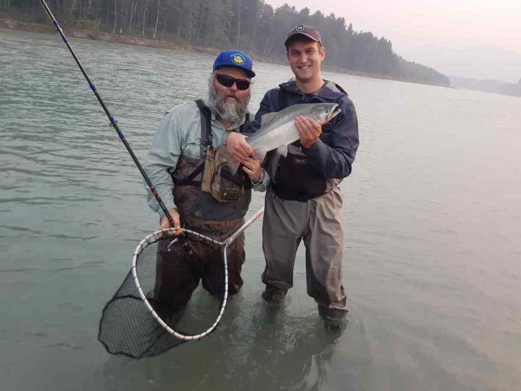Fishing for Pink Salmon