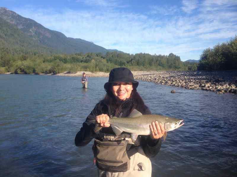 Pink Salmon fishing trips in Canada
